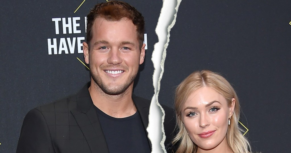 bachelor s colton underwood and cassie randolph split