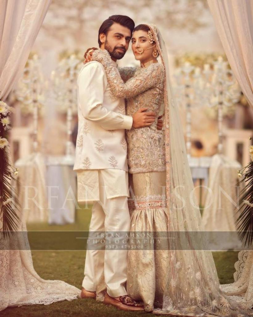 urwa hocane and farhan marriage pics