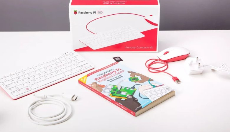 The Raspberry Pi 400 - Keyboard With Buit-In Computer?