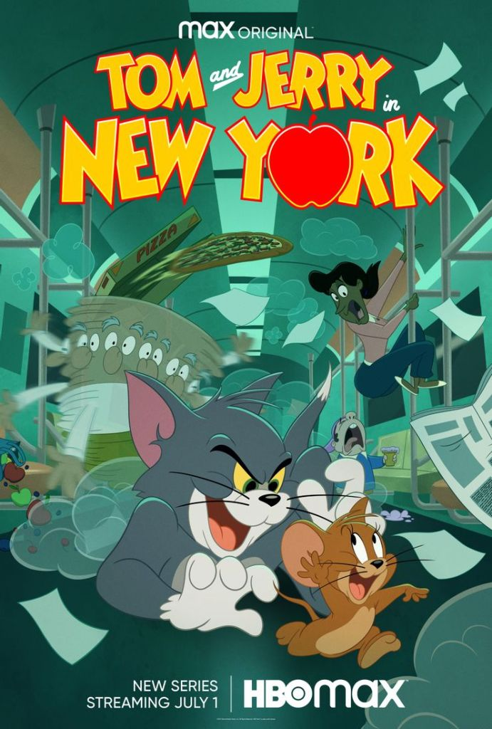 Tom and Jerry In New York Poster Long