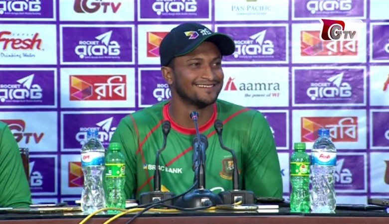 """Shakib Al Hasan : """"We will enter World Cup with a Winning Mentality"""""""