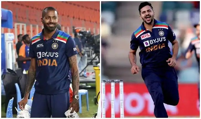 T20 WC 2021 : Shardul Thakur might replace Hardik Pandya as an all-rounder in top 15