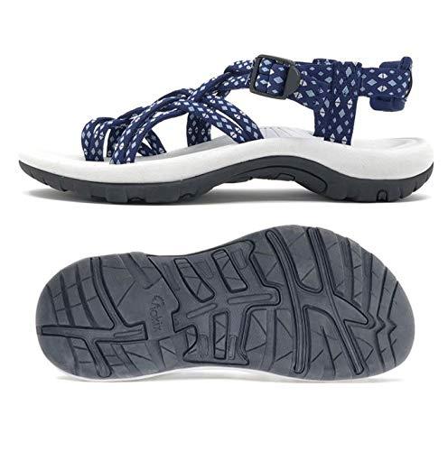 Viakix Siena Womens Walking Sandals, Blue