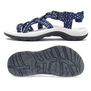 Viakix Siena Womens Walking Sandals, Blue