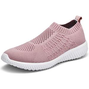 LANCROP Women's Comfortable Walking Shoes - Lightweight Mesh