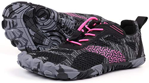 JOOMRA Women Barefoot Trail Running Shoes Ladies Wide Minimalist