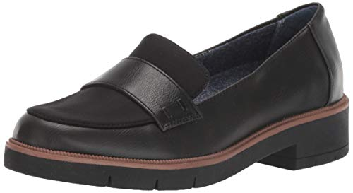 Dr. Scholl's Shoes Women's Grow UP Loafer, Black