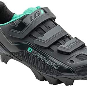 Louis Garneau Women's Sapphire MTB Bike Shoes, Black, US (10), EU (41)
