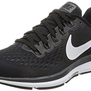 Nike Women's Air Zoom Pegasus 34 Running Shoe Black/White/Dark Grey/Anthracite Size 9.5 M US