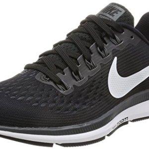 Nike Women's Air Zoom Pegasus 34 Running Shoe Black/White/Dark Grey/Anthracite Size 9.5 M US