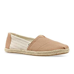 TOMS Women's Alpargata on Rope Honey Ivy League Stripes On Rope
