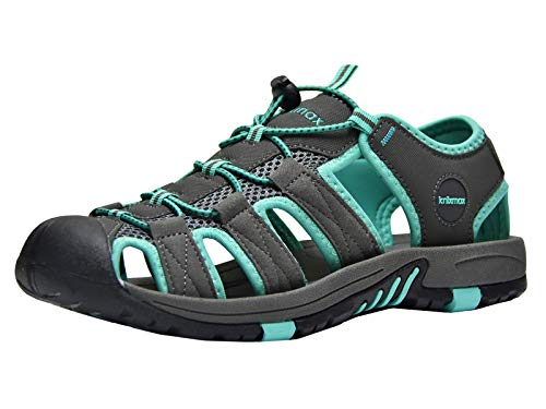 Knixmax Men's Sport Sandals Outdoor Hiking Sandals Lightweight Water Shoes