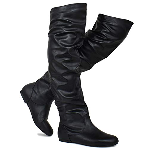 Premier Standard - Women's Slouchy Over Knee High Boots