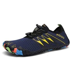 XIDISO Mens Womens Water Shoes Lightweight Quick Dry Barefoot