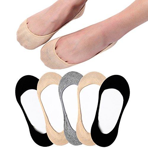 Ultra Low Cut Liner Socks Women No Show Non Slip Hidden