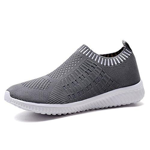 TIOSEBON Women's Athletic Walking Shoes Casual Mesh-Comfortable