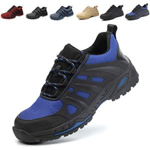 SUADEX Steel Toe Shoes Men Women, Work Shoes Breathable