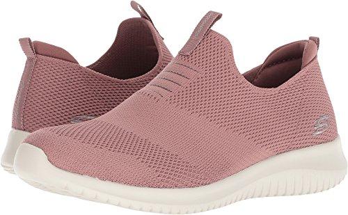 Skechers Ultra Flex First Take Womens Slip On Walking Sneakers