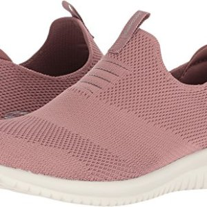 Skechers Ultra Flex First Take Womens Slip On Walking Sneakers