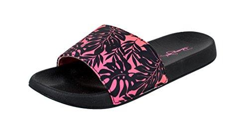 Panama Jack Ladies Tropic Print Casual Sport Slide Sandal