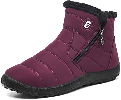 JOINFREE Womens Water Resistant Winter Boots Snow Shoe