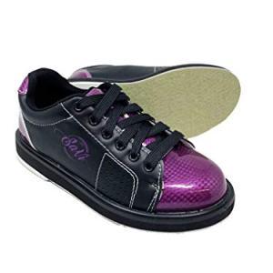 SaVi Bowling Products Women's Classic Purple/Black Bowling Shoes