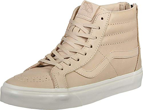 Vans Hi Reissue Zip Veggie Leather Tan Mens