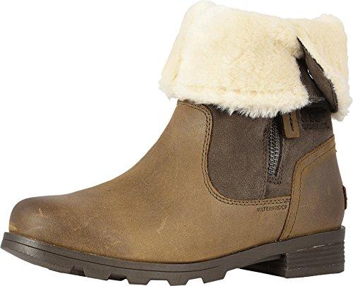Sorel Womens Emelie Foldover Fleece Winter Snow Waterproof