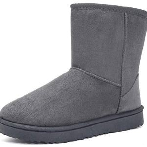 MOERDENG Women's Ankle Boot Winter Outdoor Slip On