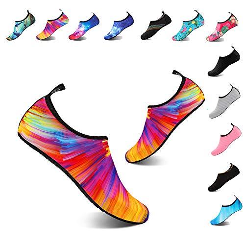 YALOX Water Shoes Women's Men's Outdoor Beach Swimming Aqua Socks