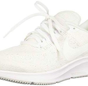 Nike Women's Air Zoom Pegasus 35 Running Shoes (8, White/Pure Platinum)