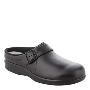 SAS Women's Clog Black 7 WW - Double Wide