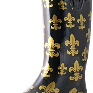 TWO Nomad Women's Drench Colorful Pattern Print Waterproof Rain Boots