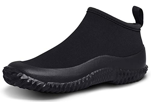 TENGTA Mens Rain Boots Waterproof Gardening Shoes for Women