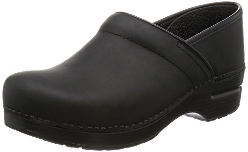 Dansko Women's Professional Mule,Black Oiled
