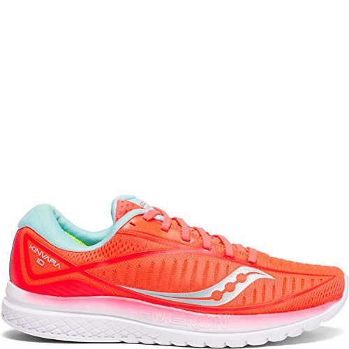 Saucony Women's Kinvara 10 Running Shoe, Vizicoral/Blue