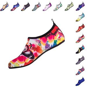 Water Sports Shoes Colorful Pattern Beach Swimming Surf Quick-Dry Aqua
