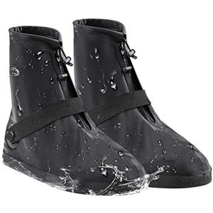 AMZQJD Waterproof Rain Shoes Boots Covers for Women Men
