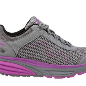 MBT USA Inc Women's Colorado 17 Grey/Purple Fitness Walking Shoes