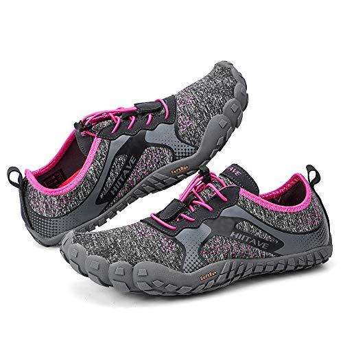 hiitave Womens Trail Running Barefoot Shoes Lightweight