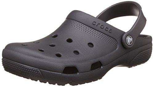 Crocs Unisex Coast Clog Graphite 8 Women