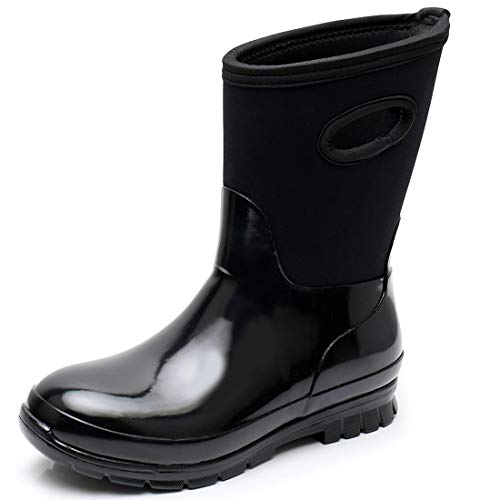 SOLARRAIN Women's Neoprene Rubber Waterproof Snow Boots