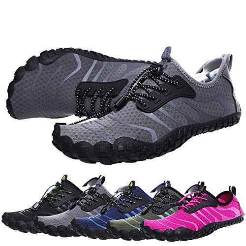 bridawn Men Women Quick Dry Barefoot Hiking Water Shoes