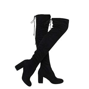 ShoBeautiful Women's Over The Knee Boots Stretchy Thigh High