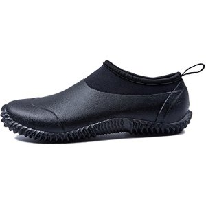 JOINFREE Womens Waterproof Rain Shoes Leisure Garden Shoes