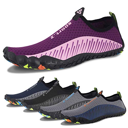 Water Shoes Mens Womens Quick Dry Beach Swim Shoes Barefoot