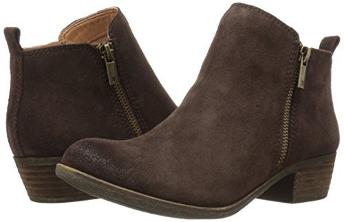Lucky Brand Womens Basel Leather Closed Toe Ankle