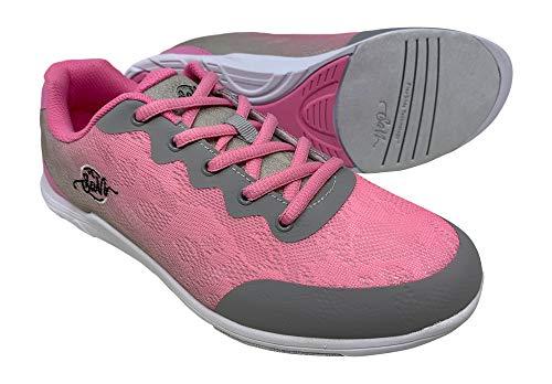 SaVi Bowling Women's Savannah Pink/Grey Bowling Shoes