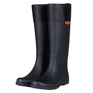 UNICARE Women's Mid-Calf Rain Boots Waterproof Rain Shoes Nonslip