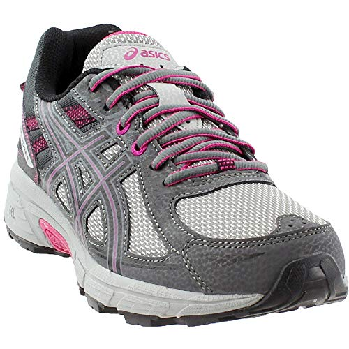 ASICS Women's Gel-Venture 6 Running-Shoes,Carbon/Black